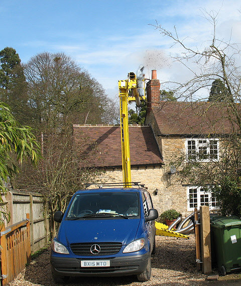 Bees in Chimney Removal Specialists for UK Households